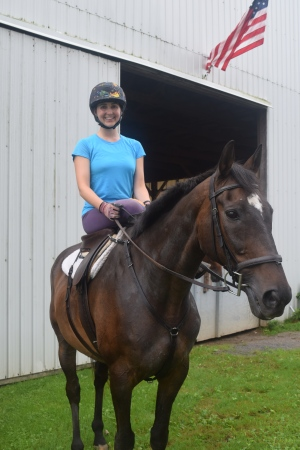 A look at the off side of the side saddle