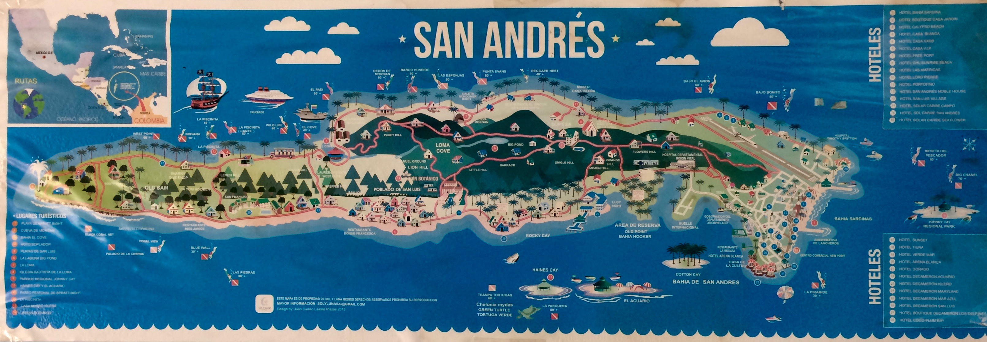 Introducing… Motos and More: Travels to San Andrés ...